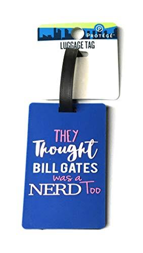 PROTEGE Gepäckanhänger – Bill Gates (Blu)