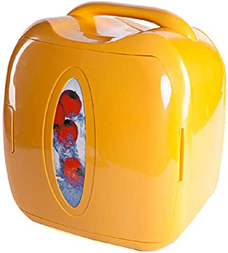 Dkian Mini Portable Car Fridge Refrigerator coolor Warmer 8L for car and Home