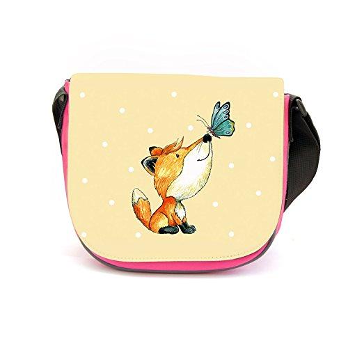 ilka parey wandtattoo-welt Kindergartentasche Fuchs und Schmetterling Kindertasche mit...