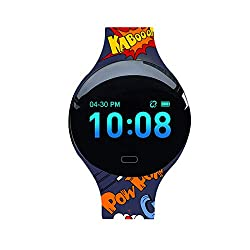 Fitness Tracker for Kids Women,IP67 Waterproof with Blood Pressure Heart Rate Sleep Monitor,smart watch with Vibration Alarm Clock/Calorie Burned/Distance/Alarm/Stopwatch for Kids Women Men (color 3)