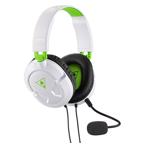 Turtle Beach Recon 50X White Gaming Headset [Xbox One, Xbox One S, PS4, PS4 Pro]