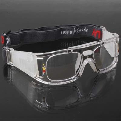 T-ara Ciencia más reciente Gafas de embalaje Gafas deportivas Baloncesto/Fútbol Cómodo de llevar (Color : Black)