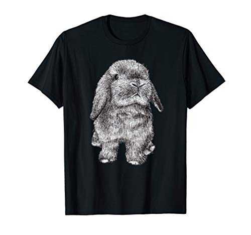 Lop Eared Bunny Rabbit Nettes T-Shirt