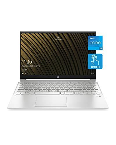 Notebook HP Pavilion 15, processador Intel Core i5-1135G7 de 11ª geração, 8 GB de RAM, 515 GB de armazenamento SSD, tela HD IPS Micro-Edge, Windows 10 Home, design compacto, bateria de longa duração (15-eg0010nr, 2020)