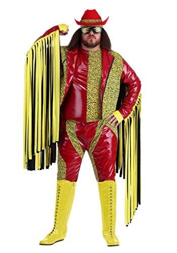 Disfraz de Macho Man Randy Savage de talla grande 6X