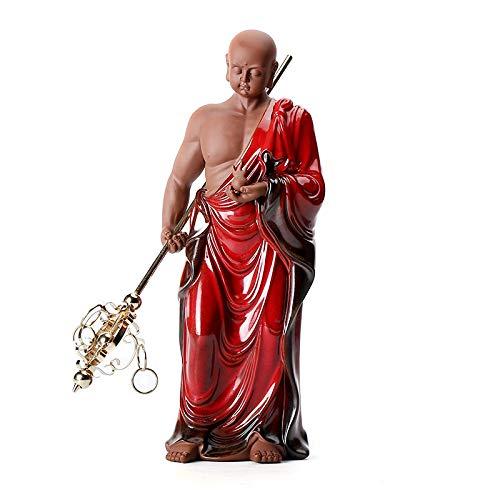 ZSQZJJ Jardín al Aire Libre Escultura Figura Estatua decoración,Estatuillas de cerámica para Mujer, artesanía Zen, decoración del hogar, Sala de Estar, Bar, estatuilla en Miniatura