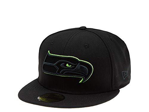 New Era Seattle Seahawks Green Action 59Fifty Fitted Cap (7 1/2)
