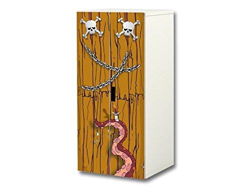 STIKKIPIX Bombero Pegatinas | SC34 | Adecuadas para el Armario de niños STUVA de IKEA (Corpus: 60 x 128cm) | (Mueble no Incluido)