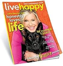Live Happy Magazine (Olivia Newton-John Cover, October 2014)