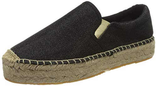 Replay Damen NASH-Lawton Espadrilles, Schwarz (Black 3), 38 EU