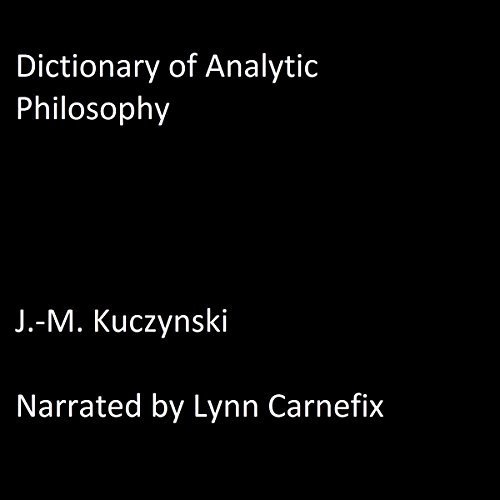 Dictionary of Analytic Philosophy cover art