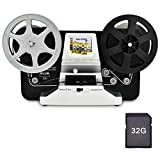 "Best 8mm Movie Film Scanners - 8mm Roll Film & Super8 Roll Film Reels(5""&3"") Review"