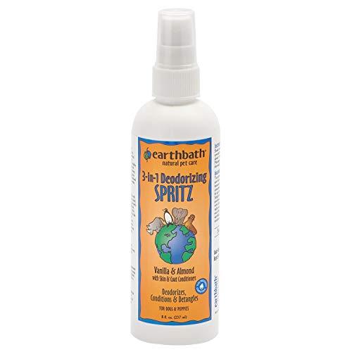 Earthbath Vanilla & Almond 3-in-1 Dog & Puppy Deodorizing Spritz - Deodorizes, Conditions,...