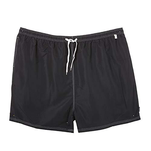 eleMar Badehose schwarz in großen Größen 4XL - 10XL für Herren kurz, Größe:10XL