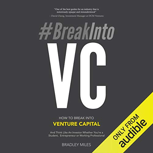 #BreakInto VC audiobook cover art