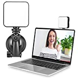 Video Conference Lighting, Zoom Light for Video Conference with Suction Cup, Webcam Lighting for Laptop Video Conferencing,Laptop Zoom Call Light, Remote Working,Self Broadcasting and Live Streaming