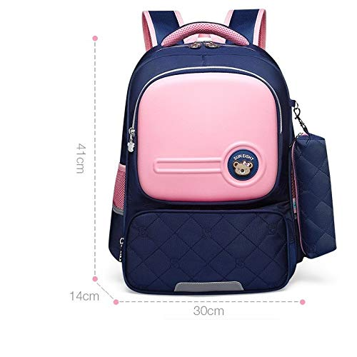 Review Of School Season Lightening 2-6 Grade Students Backpack Large Capacity Bag for Children Pupil...