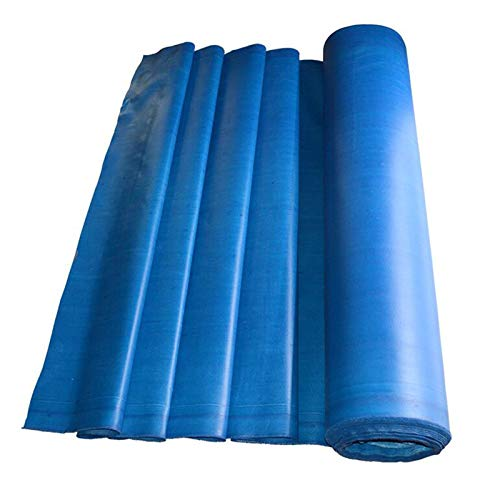GDMING Lonas, Tarea Pesada Impermeable Retardante De Llama Paño De Fibra De Vidrio por Resistencia A Altas Temperaturas Aislamiento Cubierta De Cortinas, 34 Tamaños (Color : Blue, Size : 2x8m)