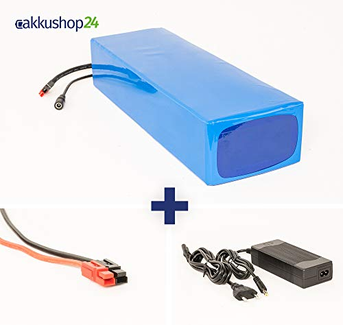 Akku 36V 20Ah 720Wh Lithium-Ionen Akkupack Scooter E-Bike Battery 25A BMS