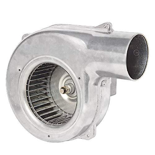 Uzman 170m3/h Gebläse, ALU Industrie Druckventilator Kesselgebläse Ventilator Druckgebläse Heizungsgebläse Heizungsventilator Heizungslüfter Ofengebläse Lüfter Ventilator
