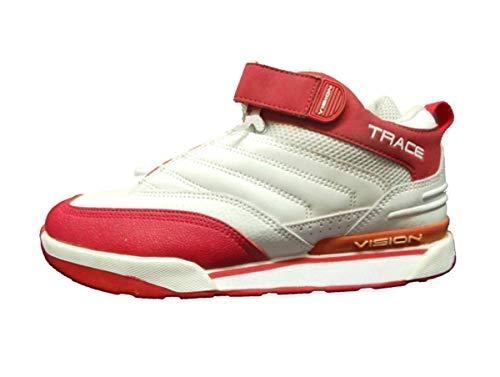 Vision Street Wear Skateboard Schuhe Red White, Schuhgrösse:41