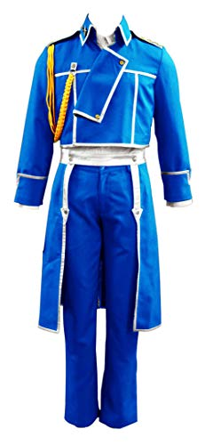 CHIUS Cosplay Costume Uniform Set for State Military Hawkeye Riza Roy Mustang