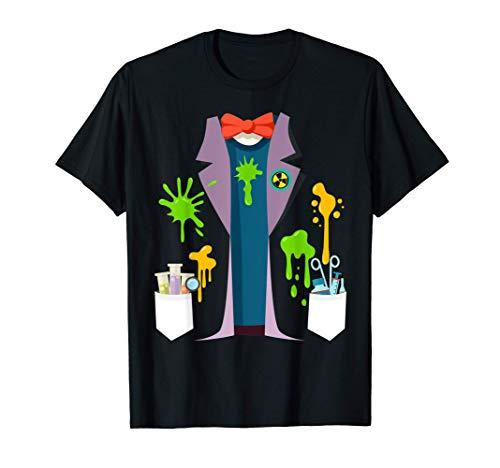 Disfraz de científico loco Divertido Nerd Química Física Camiseta