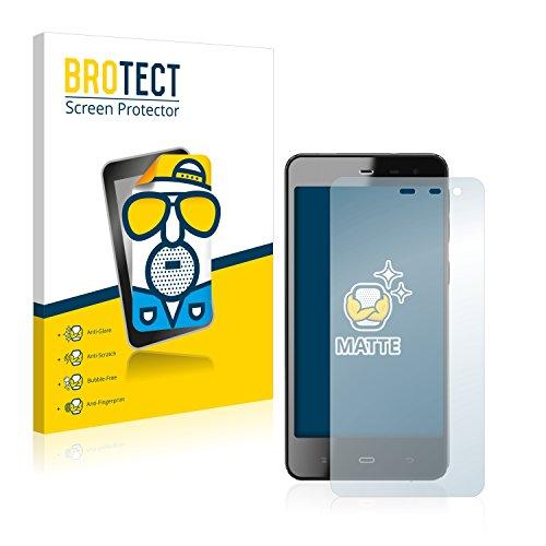 BROTECT 2X Entspiegelungs-Schutzfolie kompatibel mit Phicomm Energy M+ (E551) Bildschirmschutz-Folie Matt, Anti-Reflex, Anti-Fingerprint