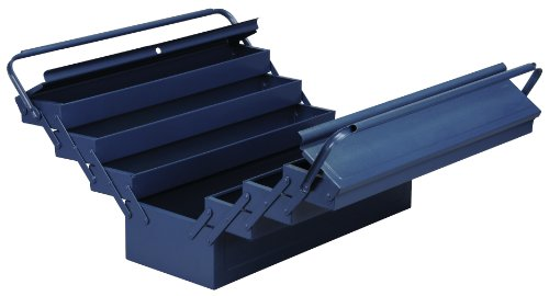 Allit 490613 McPlus 7/57 Metall-Werkzeugkasten, blau