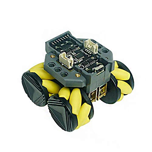 RISHIL WORLD® C Programmable directional Mobile Robot Base Compatible with M5StickC STM32f030f4 Microcontroller
