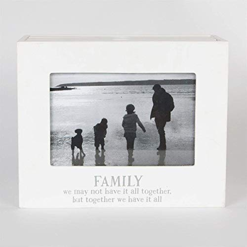 Photo Frame Album Modern Family We Have It All Gift Lounge Bedroom Square 4 x 6\