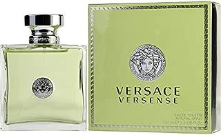 Vérsace Versense by Vérsace For Women Eau de Toilette Spray 3.4 OZ. 100 ml.