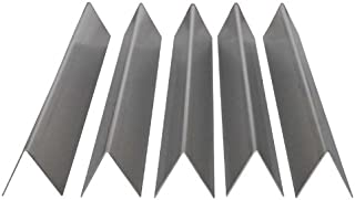 RiversEdge Products Stainless Flavorizer Bars, Set of 5, 16 Gauge, 17.5