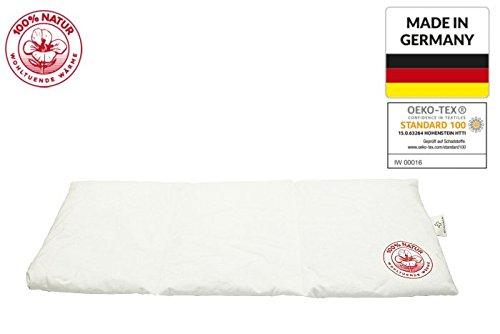 3 Kammern Wärmekissen RAPS Natur XXL, Kirschkernkissen, NATUR Nackenkissen Rückenkissen Bauch Kissen XXL natürliche Kirschkerne, Made in GERMANY und Öko-Tex 100 Zertifikat