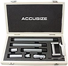 Accusize Industrial Tools 2-24'' by 0.001'' Resolution Inside Micrometer Set, 3011-5051
