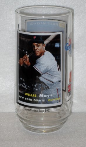 1993 McDonalds All-Time Greatest Team Glass – WILLIE MAYS