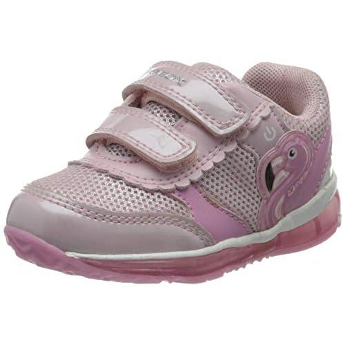 Geox B Todo Girl C, Scarpe da Ginnastica Basse Bambina, Rosa (Pink C8004), 20 EU