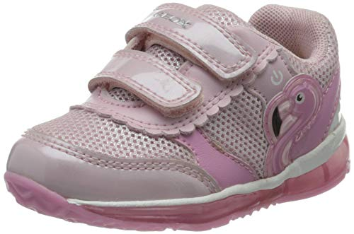 Geox B Todo Girl C, Zapatillas Bebé-Niñas, Rosa (Pink C8004), 25 EU
