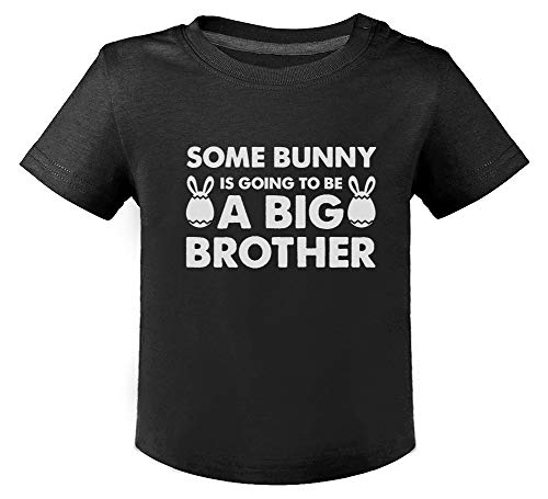 Futur Grand Frère - Easter - Big Brother T-Shirt Bébé Unisex 18M Noir