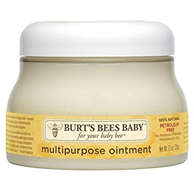 Burt's Bees Baby 100% Natural Multipurpose Ointment, Face & Body Baby Ointment – 7.5 Ounce Tub