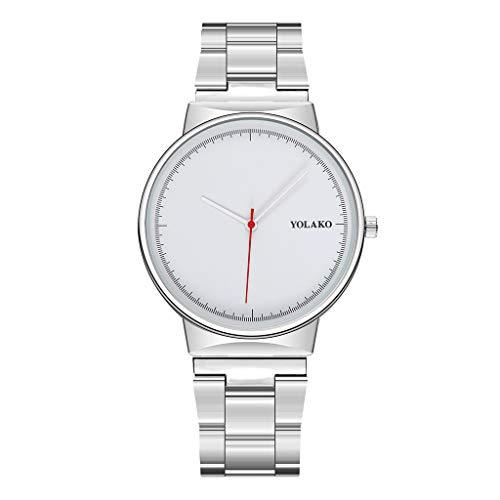 Opalley Herren Uhr, Edelstahl-Luxuxmann-Mode-Nautilus-Analoge Sport-Quarz-Armbanduhr Geschenk
