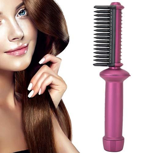 Cepillo de calor para el cabello, cepillo para alisar el cabello iónico,...