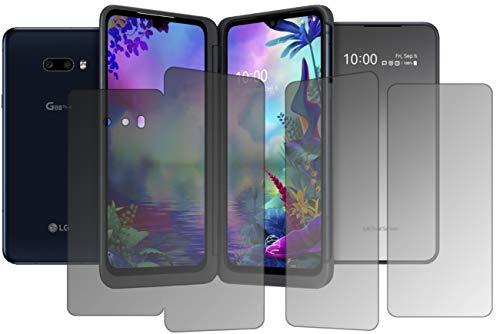 dipos I Sichtschutz-Folie matt kompatibel mit LG G8X ThinQ Dual Screen Blickschutzfolie Bildschirm-Schutzfolie Privacy-Filter