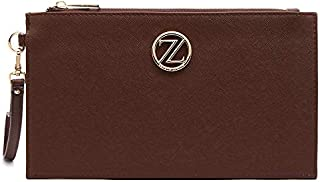Zeneve London Heidi Wrislet for Women - Brown