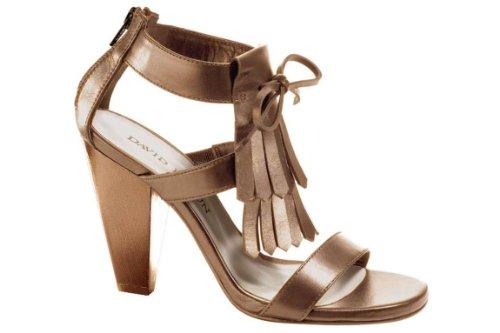 Heine Schuhe Damenschuhe Sandalette, braun Größe 35