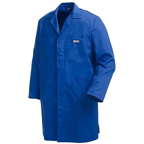 Blakläder 515018008500C60 blouse, lang, maat C60, blauw