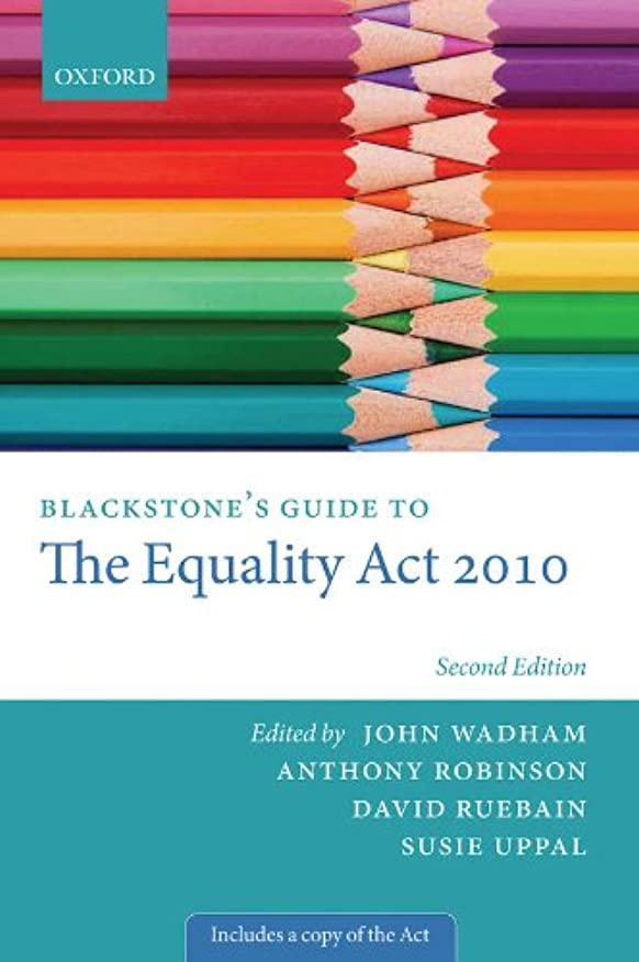 進化後方かんがいBlackstones Guide to the Equality Act 2010 (Blackstones Guides) (English Edition)
