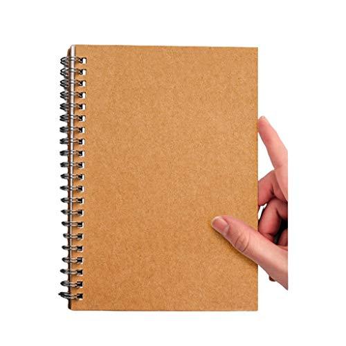 Cuaderno clásico Cuaderno Diario de la Lista de tareas del planificador Bloc de Notas, programación Diaria de, harina y de Agua de Tracker, Suministros de Oficina Linda Escuela o Inicio
