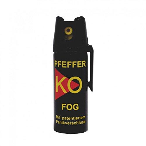 BALLISTOL - Profi Pfefferspray KO-FOG- Inhalt: 50ml (3er Set) - Sprühweite: bis zu 5 Metern - Ideal für geschlossene Räume (3)