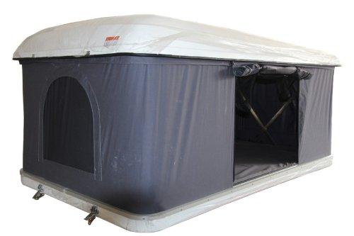 Hartschalen-Autodachzelt, GFK grau, Öffnung automatisch von Prime Tech